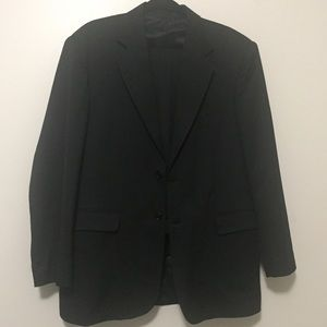 Other - Men's Custom made Black Suit Jacket and Pants